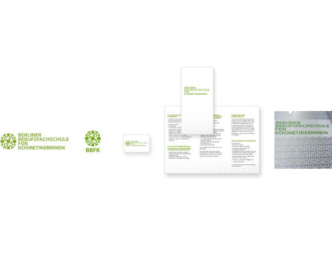 Berliner Berufsfachshule für Kosmetikerinnen - Referenz von Anja Matzker, Grafikdesign, Printdesign, Corporate Design und Webdesign in Berlin