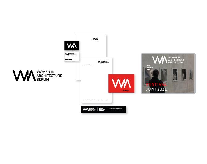 WIA Women in Architecture - Referenz von Anja Matzker, Grafikdesign, Printdesign, Corporate Design und Webdesign in Berlin