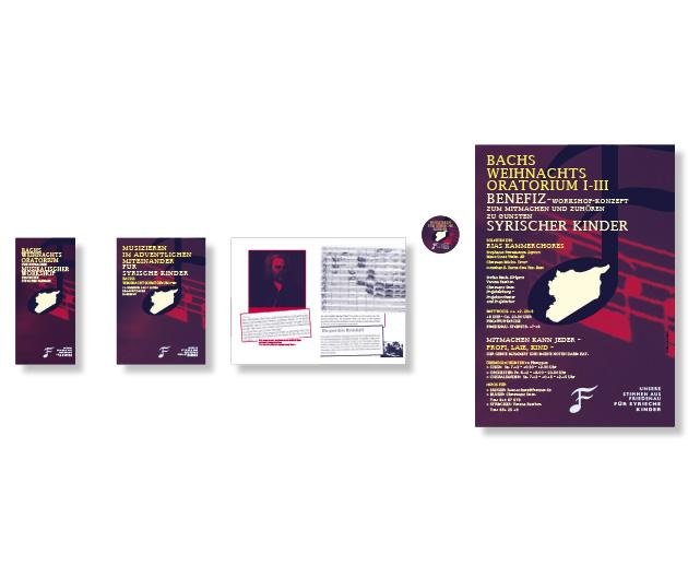 Bach Benefizkonzert - Referenz von Anja Matzker, Grafikdesign, Printdesign, Corporate Design und Webdesign in Berlin