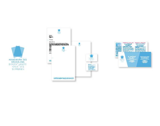 Handwerk des Erzählens - Referenz von Anja Matzker, Grafikdesign, Printdesign, Corporate Design und Webdesign in Berlin