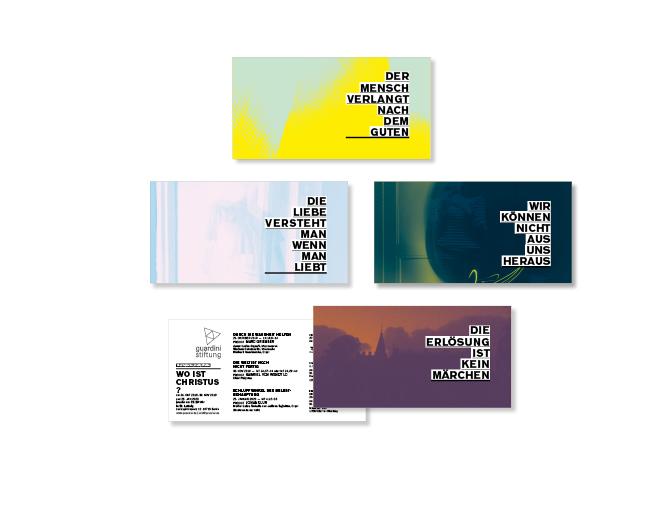 Predigtreihe - Referenz von Anja Matzker, Grafikdesign, Printdesign, Corporate Design und Webdesign in Berlin