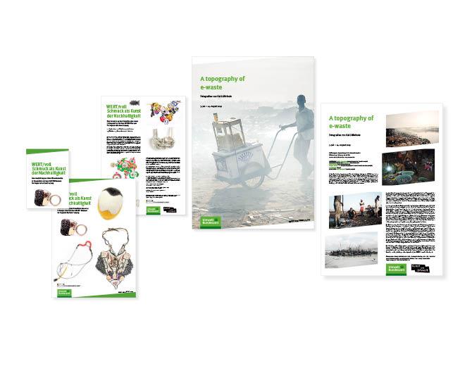 Umweltbundesamt - Referenz von Anja Matzker, Grafikdesign, Printdesign, Corporate Design und Webdesign in Berlin