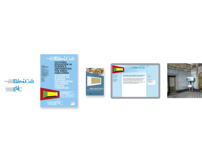 EUniCult- Referenz von Anja Matzker, Grafikdesign, Printdesign, Corporate Design und Webdesign in Berlin