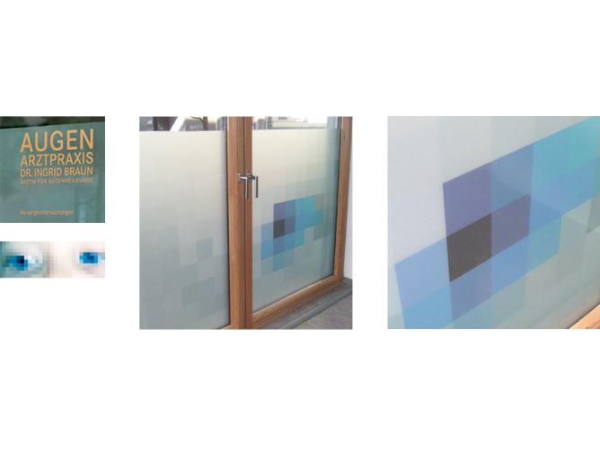 Augenarztpraxis Dr. Braun - Referenz von Anja Matzker, Grafikdesign, Printdesign, Corporate Design und Webdesign in Berlin
