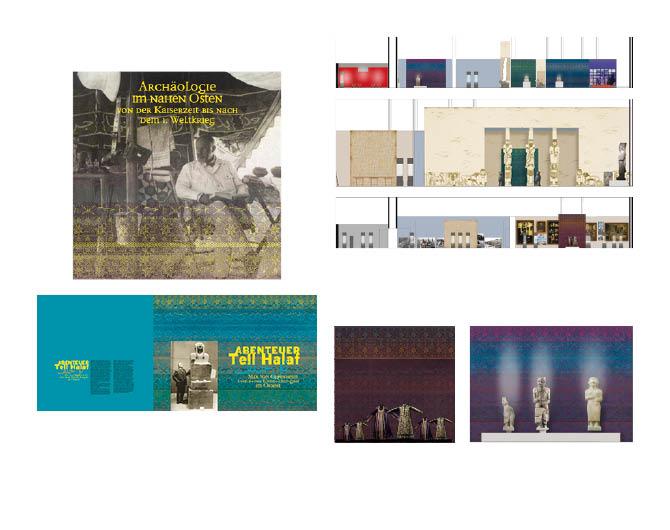 Ausstellungskonzept Max Oppenheim  - Referenz von Anja Matzker, Grafikdesign, Printdesign, Corporate Design und Webdesign in Berlin