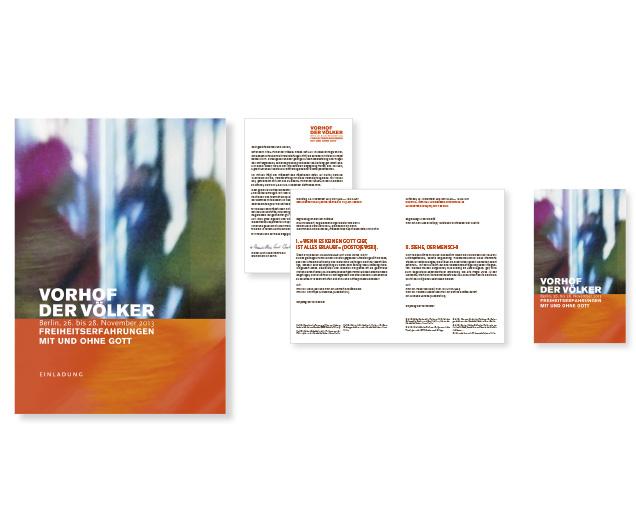 Vorhof der Völker - Referenz von Anja Matzker, Grafikdesign, Printdesign, Corporate Design und Webdesign in Berlin