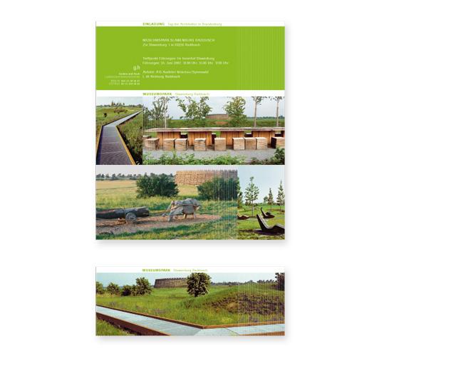 Geskes und Hack Landschaftsarchitekten  - Referenz von Anja Matzker, Grafikdesign, Printdesign, Corporate Design und Webdesign in Berlin