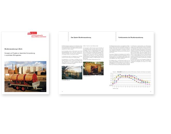 Senatsverwaltung Bauen Wohnen Verkehr Berlin - Referenz von Anja Matzker, Grafikdesign, Printdesign, Corporate Design und Webdesign in Berlin