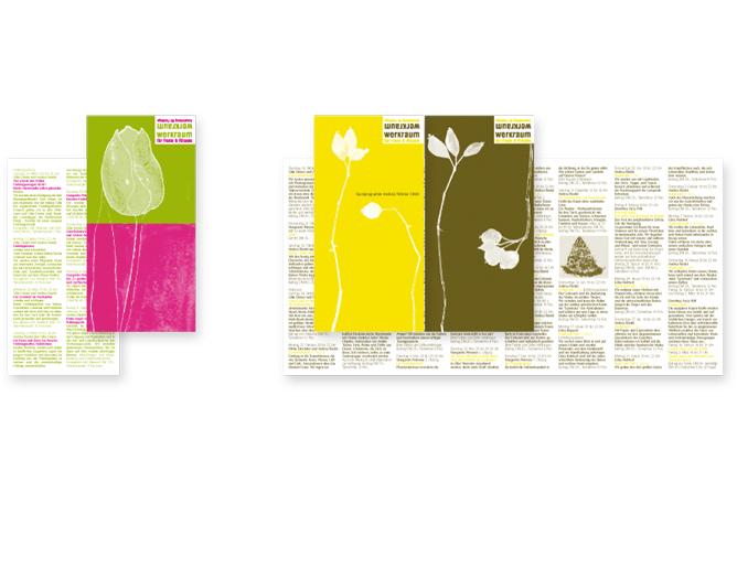 werkraum - Referenz von Anja Matzker, Grafikdesign, Printdesign, Corporate Design und Webdesign in Berlin