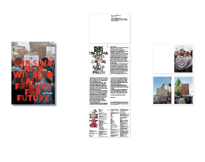 Fridays for Future - Referenz von Anja Matzker, Grafikdesign, Printdesign, Corporate Design und Webdesign in Berlin