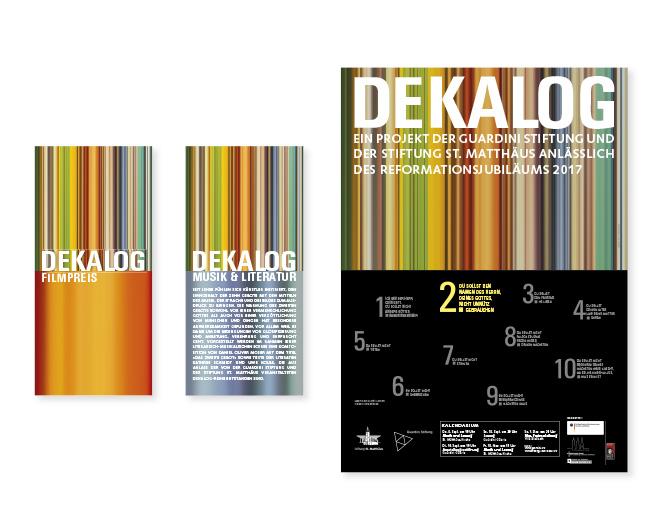 Dekalog - Referenz von Anja Matzker, Grafikdesign, Printdesign, Corporate Design und Webdesign in Berlin
