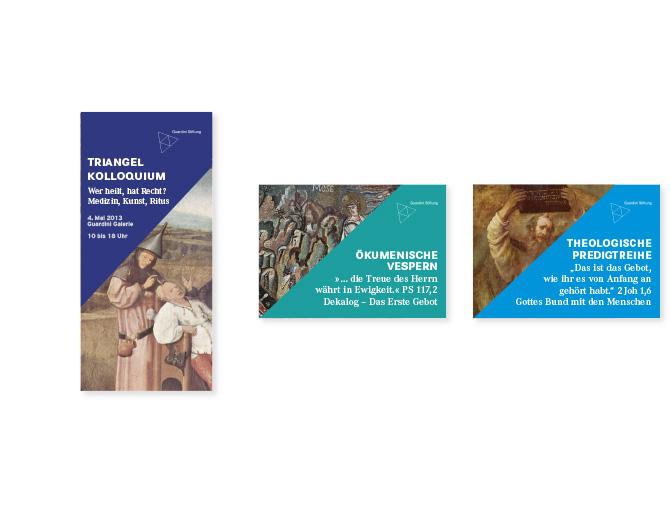 Guardiani Stiftung - Referenz von Anja Matzker, Grafikdesign, Printdesign, Corporate Design und Webdesign in Berlin