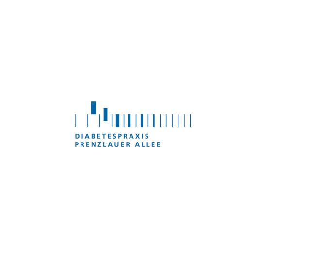 Diabetespraxis Prenzlauer Allee - Referenz von Anja Matzker, Grafikdesign, Printdesign, Corporate Design und Webdesign in Berlin