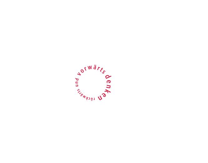 rückwärts und vorwärts denken e.V. - Referenz von Anja Matzker, Grafikdesign, Printdesign, Corporate Design und Webdesign in Berlin