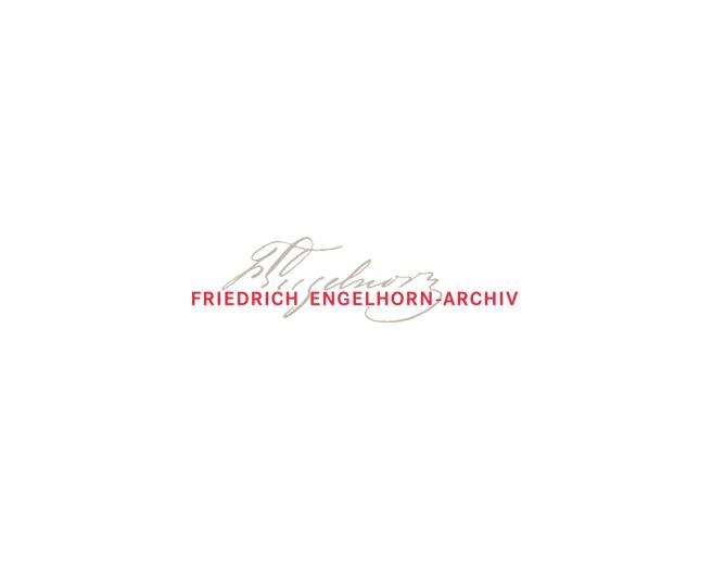 Friedrich Engelhorn-Archiv e.V. - Referenz von Anja Matzker, Grafikdesign, Printdesign, Corporate Design und Webdesign in Berlin