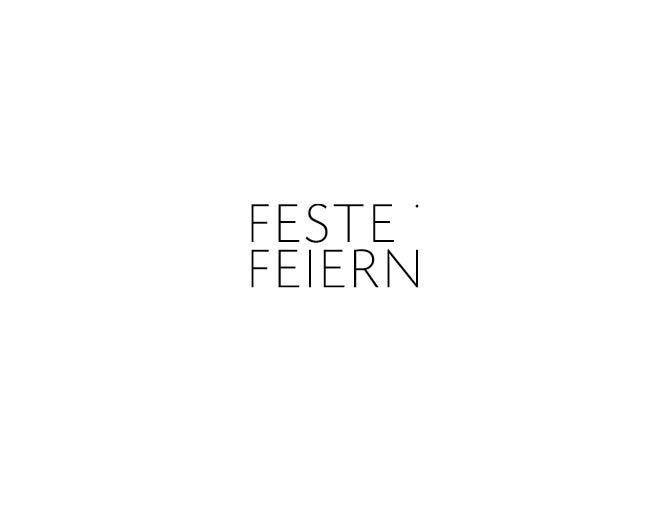 Feste Feiern - Referenz von Anja Matzker, Grafikdesign, Printdesign, Corporate Design und Webdesign in Berlin