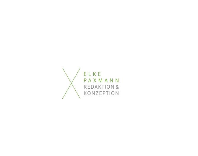 Elke Paxmann - Referenz von Anja Matzker, Grafikdesign, Printdesign, Corporate Design und Webdesign in Berlin