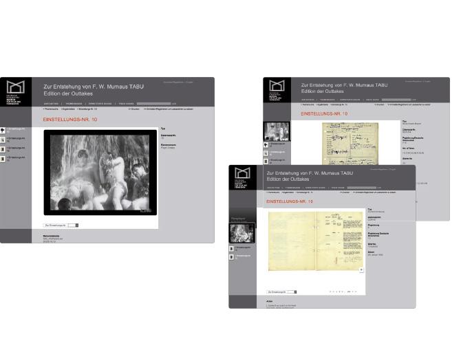 Deutsche Kinemathek - Referenz von Anja Matzker, Grafikdesign, Printdesign, Corporate Design und Webdesign in Berlin